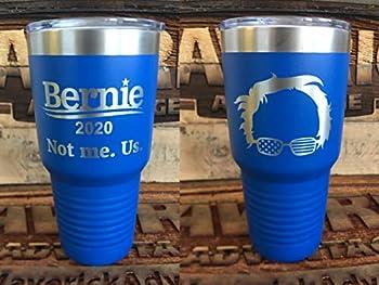 Bernie 2020-30oz Insulated Tumbler - Feel the Bern - Sanders 2020
