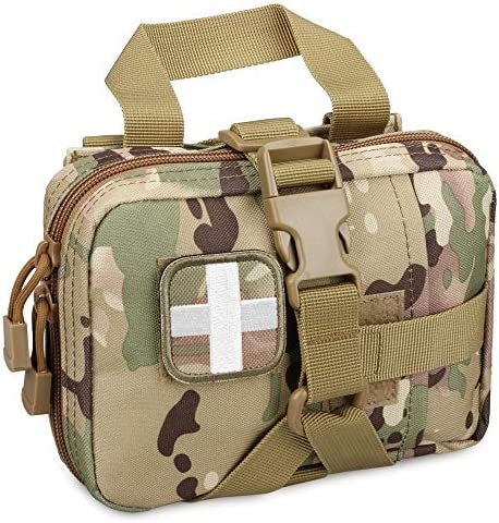 LIVANS Tactical EMT Pouch Rip Away Molle Medical Pouches IFAK Tear Away First Aid Kit Emergency product image