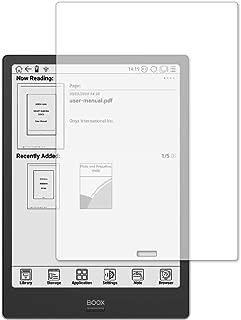 メディアカバーマーケット【専用】Boox Note Plus 用機種用【強化ガラスと同等の高硬度 9Hフィルム】 傷に強い 高透過率 クリア光沢