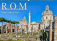 Rom - Ewige Stadt am Tiber (Wandkalender 2021 DIN A2 quer): Rom - Wiege der europaeischen Kultur und Zentrum der Christenheit (Monatskalender, 14 Seiten )