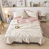 MRTYU-UY Hohlfaser-Bettdecke, Baumwolldecke für 1 Person und 2 Personen im Sommer, leichter Frühling und Herbstsünder.