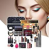 Set De Maquillaje Para Mujer, Kit Completo, Herramienta De Maquillaje Facial Resistente Al Agua,...