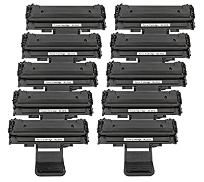 1 PACK/2 PACK/4 PACK/10 PACK Compatible with Samsung ML2010 Toner Cartridge, Printer Ink Box for Samsung ML2010/ML-2510/ML-2570/ML-2571N