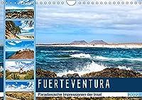 FUERTEVENTURA Paradiesische Impressionen der Insel (Wandkalender 2022 DIN A4 quer): Beeindruckende Facetten einer traumhaften Insel (Monatskalender, 14 Seiten )