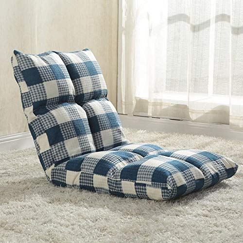 Luie stoel, luie bank Kleine fauteuil Enkele uitklapbare slaapbank Verstelbare stoel Kleine Tatami-rugleuning Opvouwbaar eenpersoons