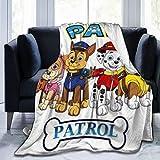 Paw Patrol Wool Blanket Single Bed Size 50x40 inches Plush Blanket Plush Soft Blanket Microfiber