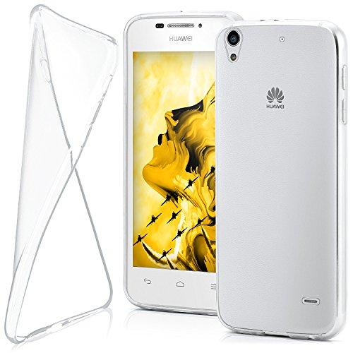 MoEx® AERO Hülle Transparente Handyhülle passend für Huawei G630 | Hülle Silikon Dünn - Handy Schutzhülle, Durchsichtig Klar