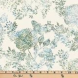 Hoffman 0668220 Bali Batik Butterfly Garden Fabric Stoff,