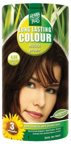 Hennaplus 49148 Long Lasting Colour 4,03 Mocha Brown