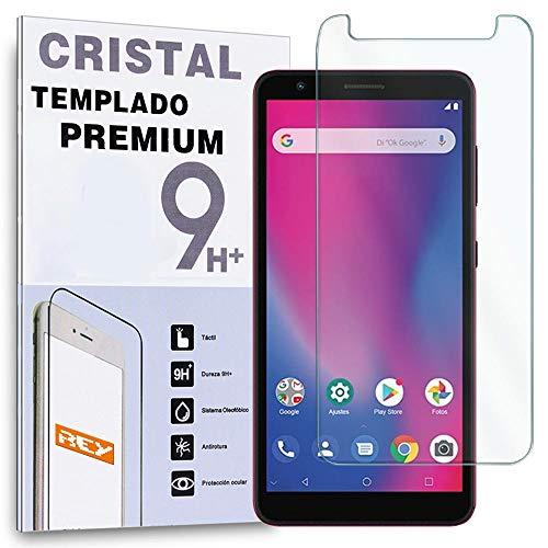 REY Protector de Pantalla para ZTE A3 2020, Cristal Vidrio Templado Premium