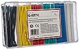 Arnocanali - Kit de tubos termorretráctiles (100 unidades)