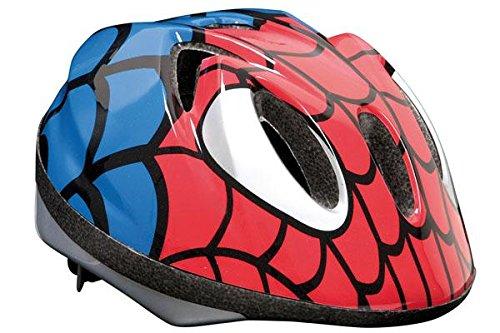 Massi Child Spiderman - Casco para Bicicleta Unisex, 52-56 cm