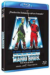 Super Mario Bros DVD [Blu-ray]