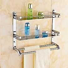 Manki High Grade 304 Stainless Steel 3 Layer Bathroom Shelves/Kitchen Shelf/Bathroom Shelf and Rack/Bathroom Accessories