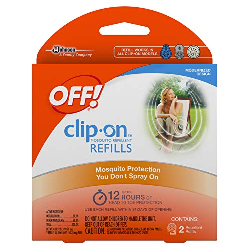 OFF! Clip On Refills, 2 CT (Pack - 1)