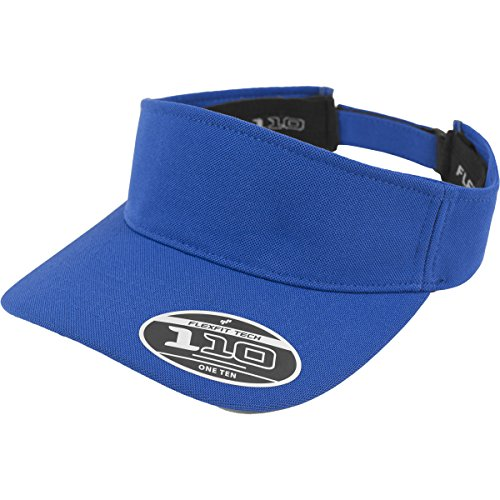 Flex fit 110 Visor Royal One Size Casquette Unisex-Adult