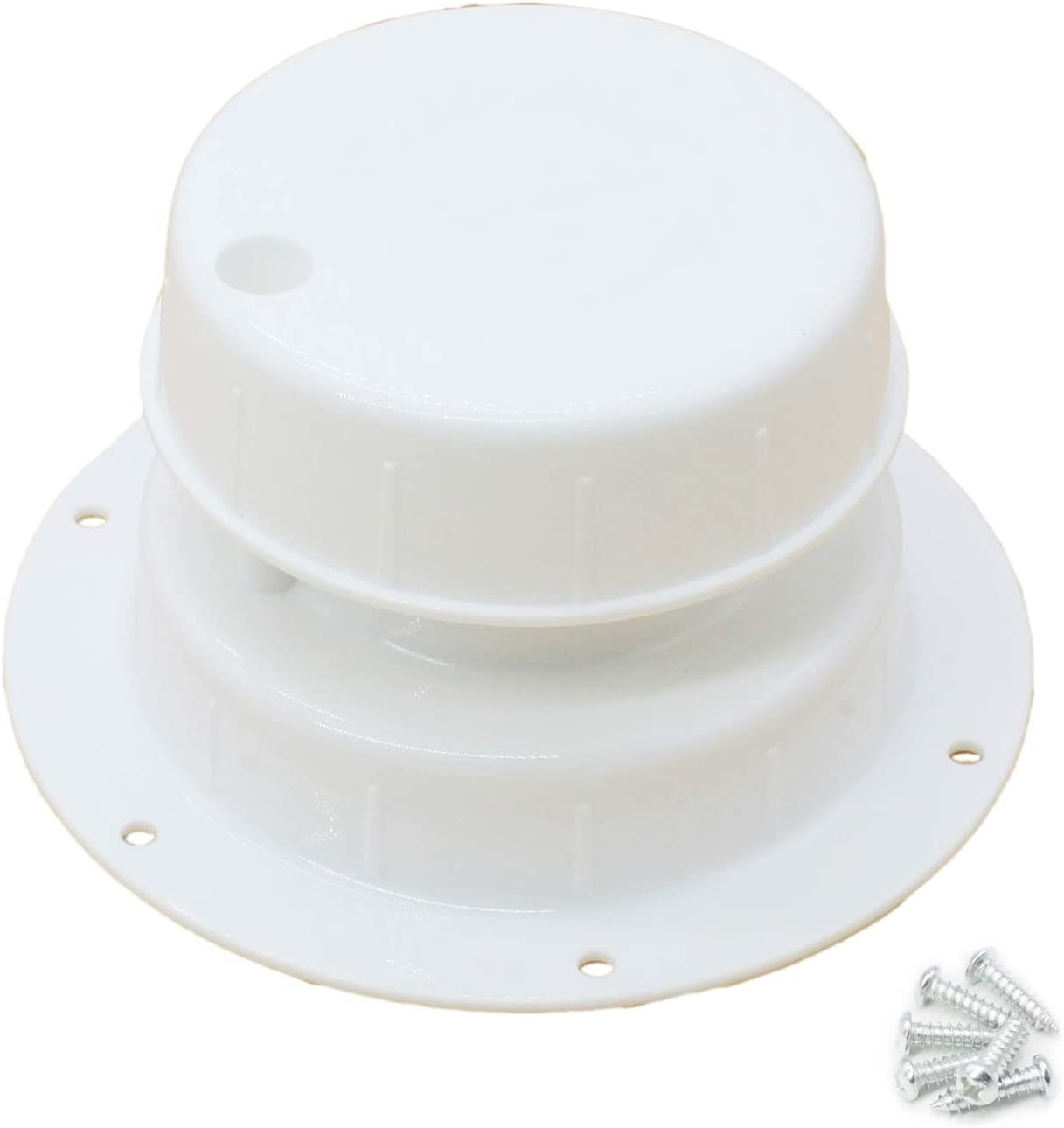 X-Haibei RV Plumbing Vent Cap White Roof Sewer Plastic Limited Superlatite time for free shipping