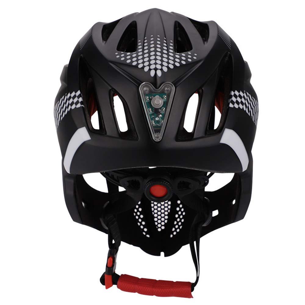 KLQQL - Casco de Seguridad para Bicicleta de Carretera, Ciclismo ...