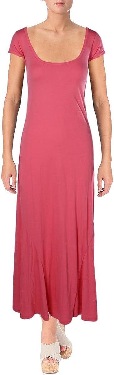 Ralph Lauren Polo Womens Maxi Dress (M, Sunrise Pink)
