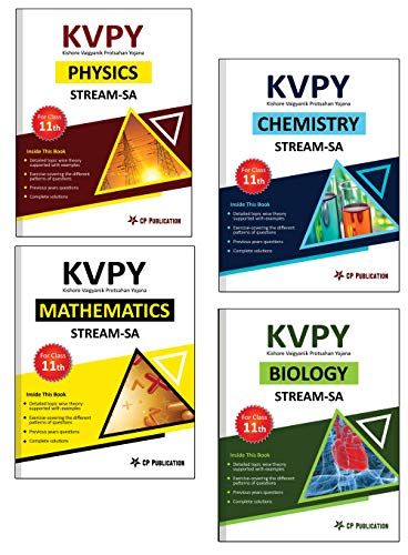 KVPY-SA: Complete Study Material Package (PCMB) for Class 11th by Career Point, Kota