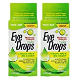 PURE-AID Seasonal Itchy & Red Eye Relief Eye Drop - 0.5 oz (2 Pack)