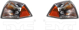 Fits 2007-2010 Jeep Compass Pair Driver and Passenger Side Turn Signal/Side Marker Light NSF Certified Lens and Housing Only CH2520144 CH2521144 - Replaces 68000683AA 68000682AA ;