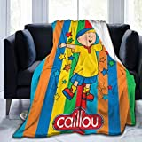 Ethereal Womoy Caillou Blanket Comforter Couch for Camping Outdoor Living Room Decoration 50'X40' Child Teens Women Men