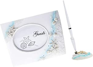 Seaside Beach Theme Wedding Signing Guest Book Pen Set