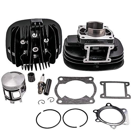 Cylinder Head Piston Gasket Top End Kit for Yamaha Blaster 200 YFS200 1988-2006 66mm 195cc 2XJ-11181-00-00 3JM-11351-02-00