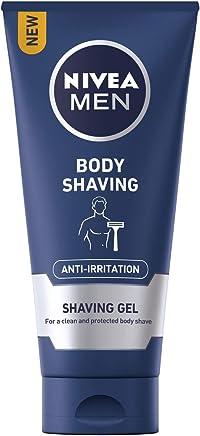 NIVEA MEN Body Shaving Anti-Irritation Shaving Gel, 200 ml