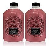 Beauty Soft Jabón líquido corporal antibacterial formula libre de parabenos 4 litros, protege e hidrata tu piel en cada uso, sensación fresca y suave con colágeno aloe vera y aceites esenciales, gel de baño perfumado White Tea & Rose