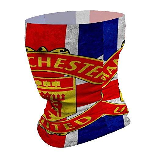 Manchester United Flag Multifunctional Magic Scarf Face Shield Headwear Bandana Tube