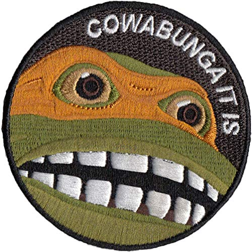 Find Cheap Bitway Tactical Cowabunga It is Embroidered Hook-Backed Morale Patch