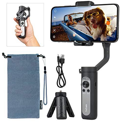hohem 3-Axis Smartphone Gimbal Stabilizer, Handheld Phone Gimbal w/Moment...