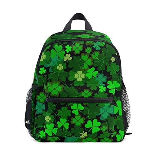 MONTOJ St Patrick de Jour Motif Sac d'école pour garçons Pliable d'école Sac à Dos