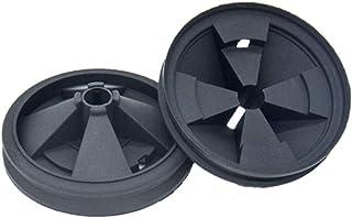 Abfallentsorgungsspritzschutz 2 Stück EPDM Wasserdicht Spülbecken Baffle Multifunktion sy Installieren Reparatur Ersatzteile Geräuschreduzierung Home Praktischer Schmutz für InSinkErator Stopper