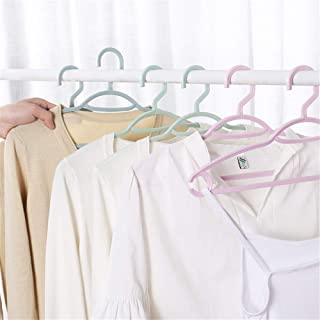 20pcs Portable Cute Clothes Hanger Kid Clothes Non-Slip Hook For Suit Coat Closet Garment Outdoor Drying Rack Plastic Clot...