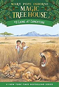 Lions at Lunchtime (Magic Tree House Book 11)