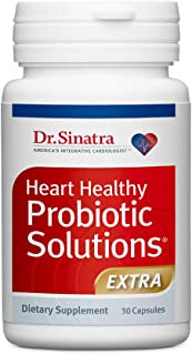 Dr. Sinatra's Heart Healthy Probiotic Solutions Extra Delivers Total Digestive Support and Immune Health Support, 30 Capsu...
