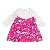 Desigual Vestido Corto bebé-niñas XX-Small Rosa