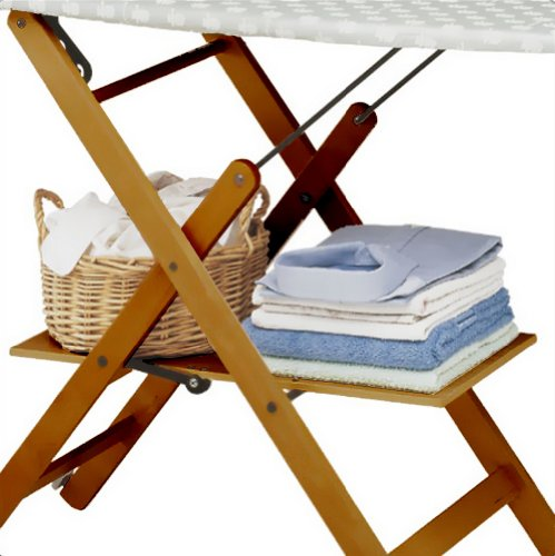 Foppapedretti Assai Folding Ironing Board, Noce/Brown