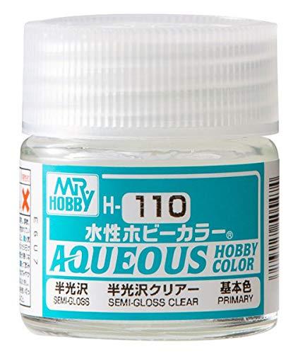 Mr.HOBBY 水性ホビーカラー 半光沢クリアー