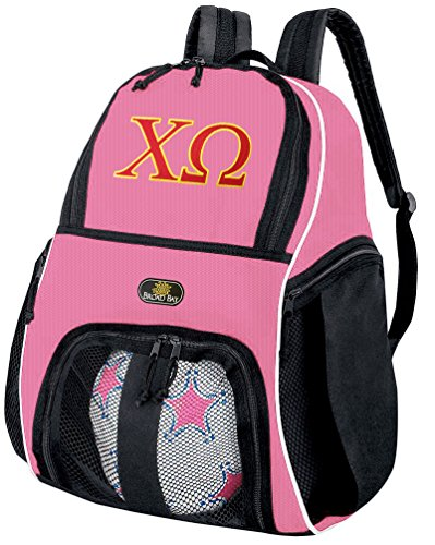 Broad Bay Chi Omega Soccer Backpack or Volleyball Bag Purple