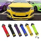 Strap Tow profesional grillete universal de emergencia veh/ículo cuerda de arrastre para coche cami/ón remolque SUV Remolque cuerda