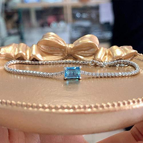 CTDMMJ Bracelet stone gift-5 * 7mm1 carat topaz