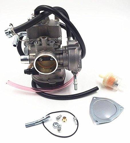 Templehorse Carburetor for Kawasaki KFX400 KF-X 400 03-06 Suzuki Lt-Z400 04-08 Arctic Cat 400 DVX Yamaha Raptor 350 YFM350 ATV Quad 13200-07G30 13200-07G40 13200-07G50 13200-07G01 13200-07G11 13200-07