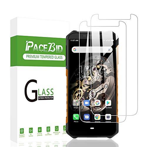PaceBid 2 Stück Panzerglas Schutzfolie Kompatibel mit Ulefone Armor X5, Tempered Glass [9H Festigkeit][Anti-Fingerabdruck][Ultra-klar] Panzerglasfolie Bildschirmschutzfolie Für Ulefone Armor X5