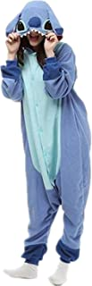 Cartoon Couples Adult Unisex Carnival Party Costume Winter Sleepwear Cosplay Pajamas Onesies