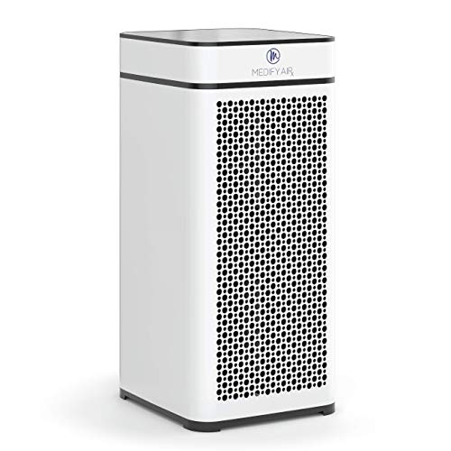 Medify Air MA-40-W V2.0 Air Purifier with H13 HEPA filter - a higher grade of HEPA for 840 Sq. Ft....