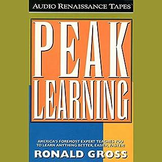Peak Learning audiobook cover art